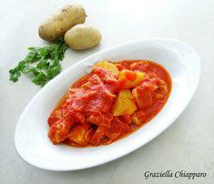 Trippa+con+pomodoro+e+patate+|+Ricetta