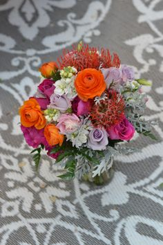 tropical summer Bridal Bouquet
