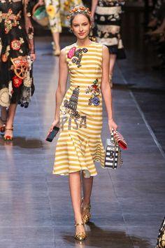 Dolce & Gabbana - Primavera-Verão 2016 - Milan Fashion Week | Sup3rb