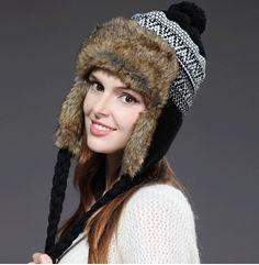 075f74d0ec199 33 Delightful women ushanka hat winter warm hat with ear flaps images