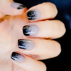 Cloudy Ombre Nails || 10 Best Nail Designs of 2013