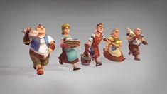 Oswin Skomroch Neumann Game Animation Showreel
