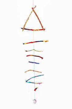 Kids Twirling Twigs Mobile