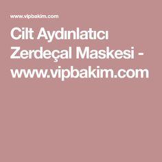 Cilt Aydınlatıcı Zerdeçal Maskesi - www.vipbakim.com