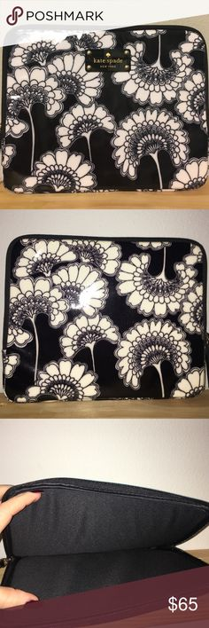 KATE SPADE Florence Broadhurst Floral iPad Case Neoprene case. Never used, I was going to use it as a clutch because I don't like tablets but just ended up keeping it on a shelf and admiring it from afar. Letting it go because I finally found the wallet! kate spade Accessories Tablet Cases