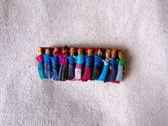 Vintage 80's Worry Doll Hair Barrette by ecclectionshop on Etsy