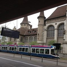 Zurich main-train station is right next to the Landesmuseum