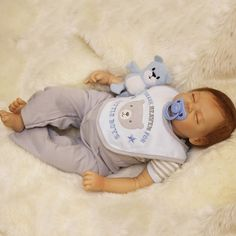 88.88$  Watch now - http://alimue.shopchina.info/go.php?t=32797753698 - New Arrival Silicone Reborn Baby Dolls Real Alive Newborn Baby Dolls Toy Gift for Boys/Baby/Kid Birthday Gifts 88.88$ #buychinaproducts
