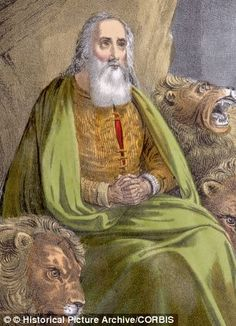 The Daniel Fast is based on the fasts of the Old Testament prophet Daniel (pictured)