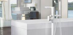Grifería para bañera de Villeroy & Boch - diseño purista
