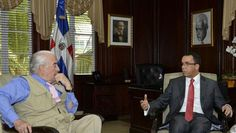 Canciller recibe expresidente Pastrana, quien encabeza la misión de observación electoral de OEA