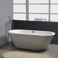 New Waves Contemporary Lounger Tub