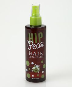 Best Detangler without the harsh chemicals!!  Take a look at this Hair Detangler Spray by Hip Peas on #zulily today!