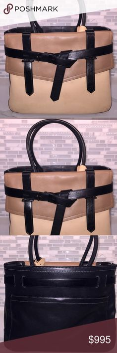 Reed Krakoff Large Tote- Brand New Large Stylish Tote makes a great laptop bag. Never used Reed Krakoff Bags Satchels