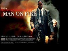 man on fire - Denzel Washington. This is one of my favorite movies. Denzel Washington, Action Movies, Hd Movies, Desktop Hd, Tony Scott, Man On Fire, Old Girl Names, Fire Movie, Trey Gowdy