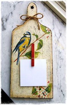 decoupage ----- cutting board------------- deska do krojenia ------- OWOCE MOJEJ…