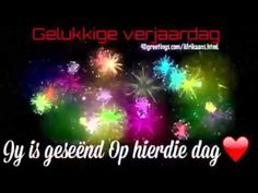 Afrikaans Verjaardag - Greeting Cards - YouTube