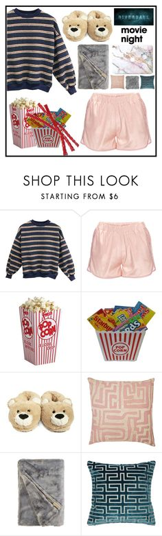 """riverdale and chill"" by uitwaaien ❤ liked on Polyvore featuring Anine Bing, Forever 21, St. Frank, contest, movieNight and contestentry"