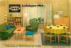 Primul magazin din afara Suediei se deschide la Oslo, în 1963.