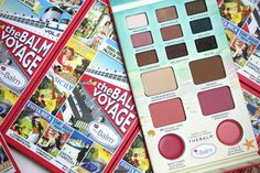 Our Balm Voyage Vol. 2 is the one-stop travel palette for the girl on the go! Everything Pink, Vanities, The Balm, Hair Beauty, Eyeshadow, Girly, Cosmetics, Wallpaper, Makeup