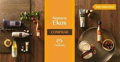 Conheça as novidades de Natura Ekos: novas fórmulas, novas embalagens, novos produtos e benefícios para o cuidado do seu corpo. Cada ativo um benefício. Experimente e compre online na Rede Natura. #NaturezaGeraBeleza Natura Ekos Lançamentos.