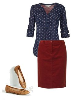 """Red and Blue"" by beautiful-and-unique ❤ liked on Polyvore featuring Fat Face and Gerry Weber Edition"
