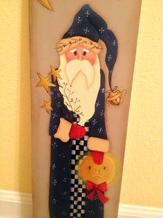 Santa board I painted