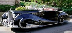 1940's cars | 1940s Bentley Streamline What nice lines for this car.