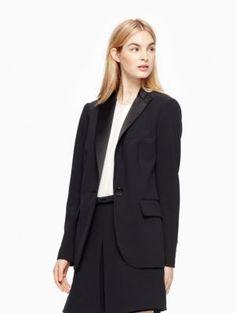 crepe blazer | Kate Spade New York