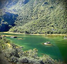 Laguna La Coromoto, 3300m, Sierra Nevada de Mérida.