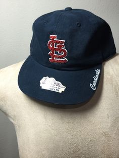A personal favorite from my Etsy shop https://www.etsy.com/listing/278805924/st-louis-navy-blu-carinal-stl-hat