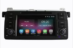 K-Navi 7 Inch Car Bluetooth DVD Multimedia Player Quad Core GPS Navigation System Android 4.4.2 Includ Canbus For BMW - For Sale