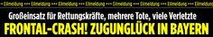 http://www.bild.de/news/inland/zugunglueck/news-eilmeldung-zugunglueck-44487546.bild.html http://www.sueddeutsche.de/bayern/bahnunglueck-in-oberbayern-frontalzusammenstoss-mehrere-tote-bei-zugunglueck-bei-bad-aibling-1.2855543 http://web.de/magazine/panorama/zugunglueck-bayern-bad-aibling-menschen-verletzt-31338428