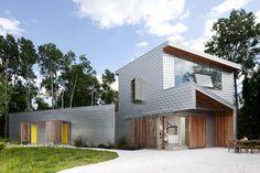 Eine fantastische Fassade schmückt dieses Haus in den USA, und gibt ihm einen ganz eigenen Charakter.