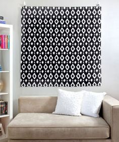 Creative ideas to add color to boring white apartment walls no