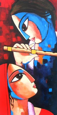 Sekhar Roy 1957 | Indian Figurative painter | TuttArt@ | Pittura * Scultura * Poesia * Musica |