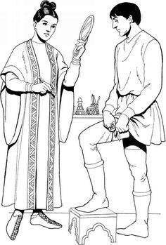 5th Century Roman Clothing