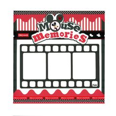 Mickey Mouse Premade Scrapbook Page 12 x 12 by SammieSueDesigns, $12.00