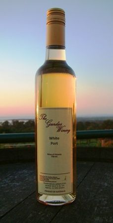 A gratuitous wine bottle shot with a spectacular sunset in the background. We made a white port from Riesling grape and served chilled - it sold like hotcakes.#owningawinery #port #riesling
