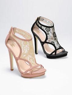 VS Collection Lace Platform Sandal