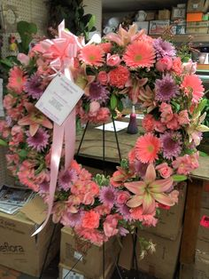 Beautiful Heart standing sprayed made by Jana  Harmon, at The Flower Corner Designs located in hamilton ohio, check out of description for more details