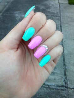 #nail#spring#colorful#cute