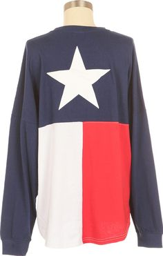 Show your Lonestart pride with our State of Texas Spirit Shirt. This top is so popular it's flying off the shelves. Free Shipping > $50