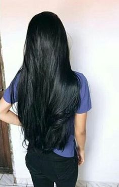 New ideas hair long black locks - Haar Ideen Human Hair Color, Hair Color For Black Hair, Brown Hair, Beautiful Long Hair, Gorgeous Hair, Dreadlock Wig, Wig Hairstyles, Straight Hairstyles, Black Hairstyles