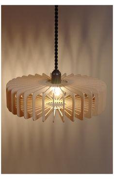 Laser Cut Lamps, Laser Cut Wood, Laser Cutting, Ceiling Lamp Shades, Ceiling Lights, Lampe Laser, Wood Pendant Light, Pendant Lamps, Pendant Lights