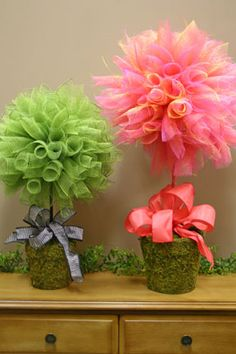Cute for table decorations for a bridal shower