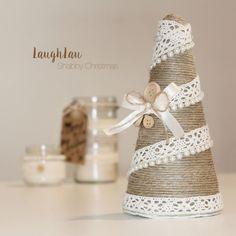 Alberello di Natale sabbi chic, per decorare la tua casa in maniera originale! Unidea regalo per te o per chi vuoi tu! :) Subito
