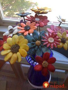 Ideas Flowers Crafts For Kids Seeds Diy Pumpkin Seeds, Pumpkin Seed Crafts, Nature Crafts, Fall Crafts, Holiday Crafts, Diy Crafts, Crafts For Seniors, Crafts For Kids, Pasta Art