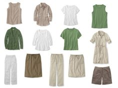 The Vivienne Files: Common Capsule Wardrobe Accessories, step by step: Khaki and Green