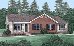 Elevation of Multi-Family Plan 45365this could be the one!!!!